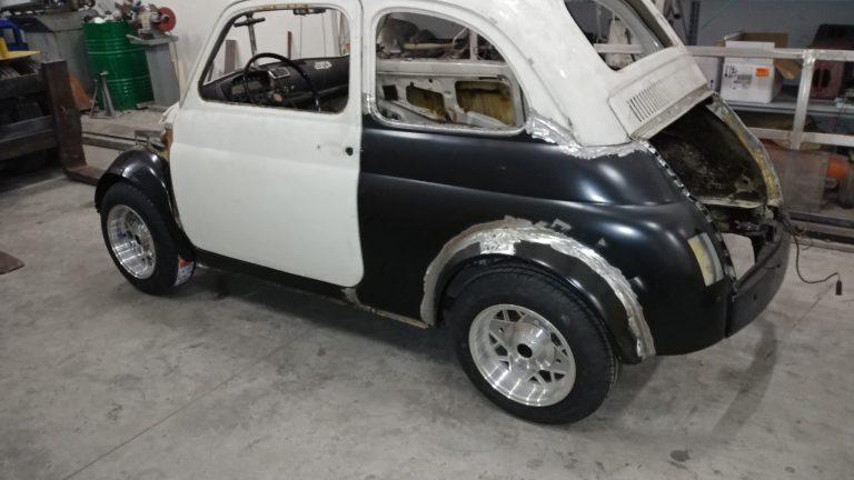 Fiat 500 preparata 595